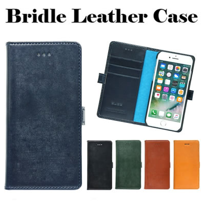 『GLIDE Bridle Leather Case』 iPhone 11Pro ケース / iPhone 8 / 7 / 6s / 6 本革 ブライドルレザー