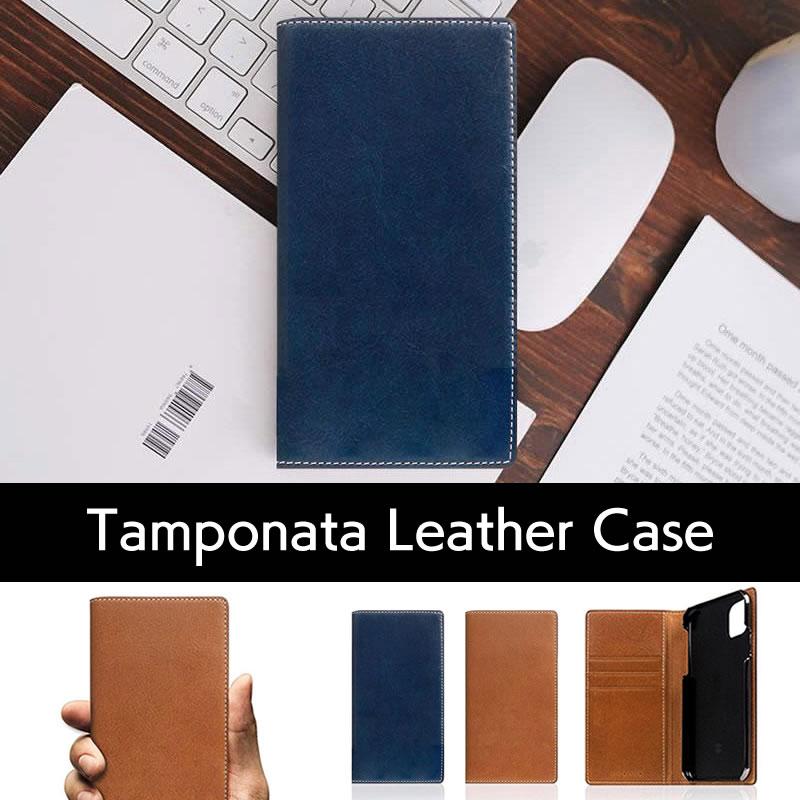 SLG Design エスエルジー デザイン タンポナタレザーの手帳型iPhoneケースはこちら