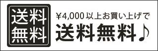 4000円以上お買い上げで送料無料
