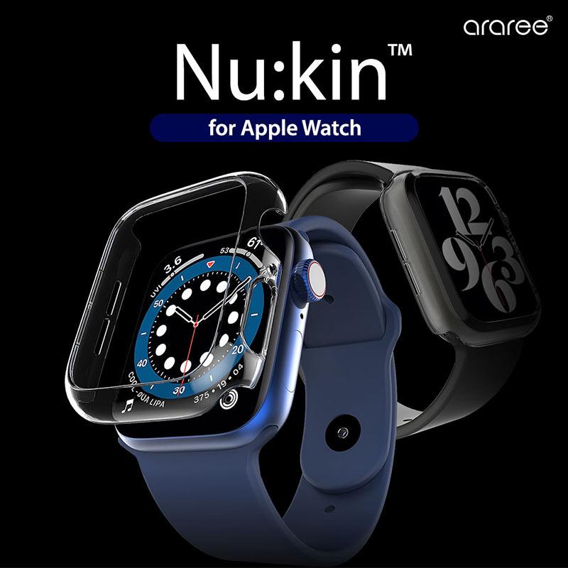 Apple Watch用 ハードクリアケース Nu:kin