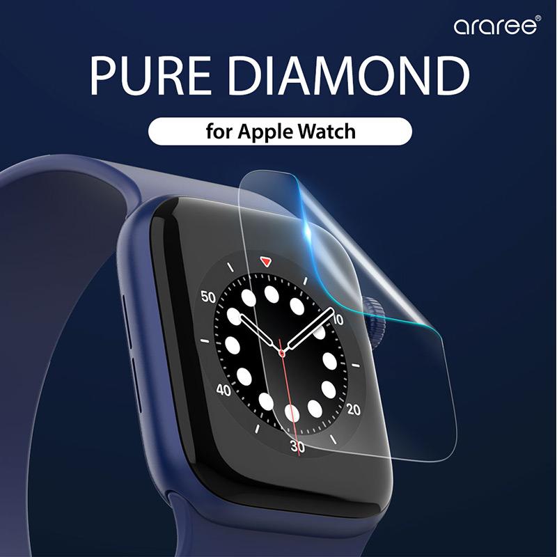 Apple Watch用 PURE DIAMOND(2枚入り)