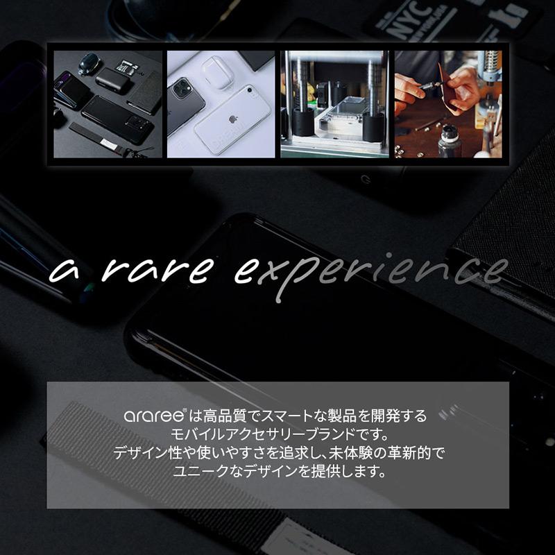 arareeについて 高品質でスマートは製品を開発するモバイルアクセサリーブランド