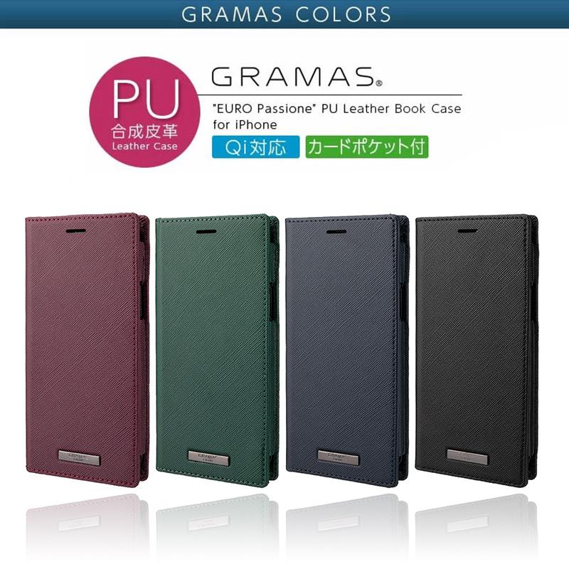 EURO Passione PU Leather Book Case、iPhone13 mini Pro Max ケース 手帳型 レザー スマホケース 革