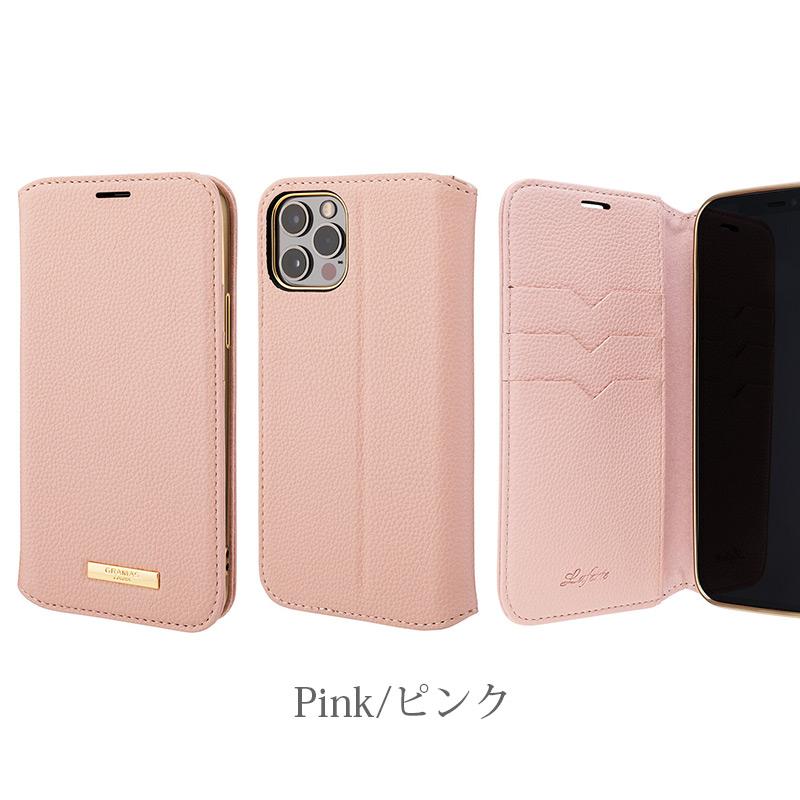 ピンク Shrink PU Leather Book Case