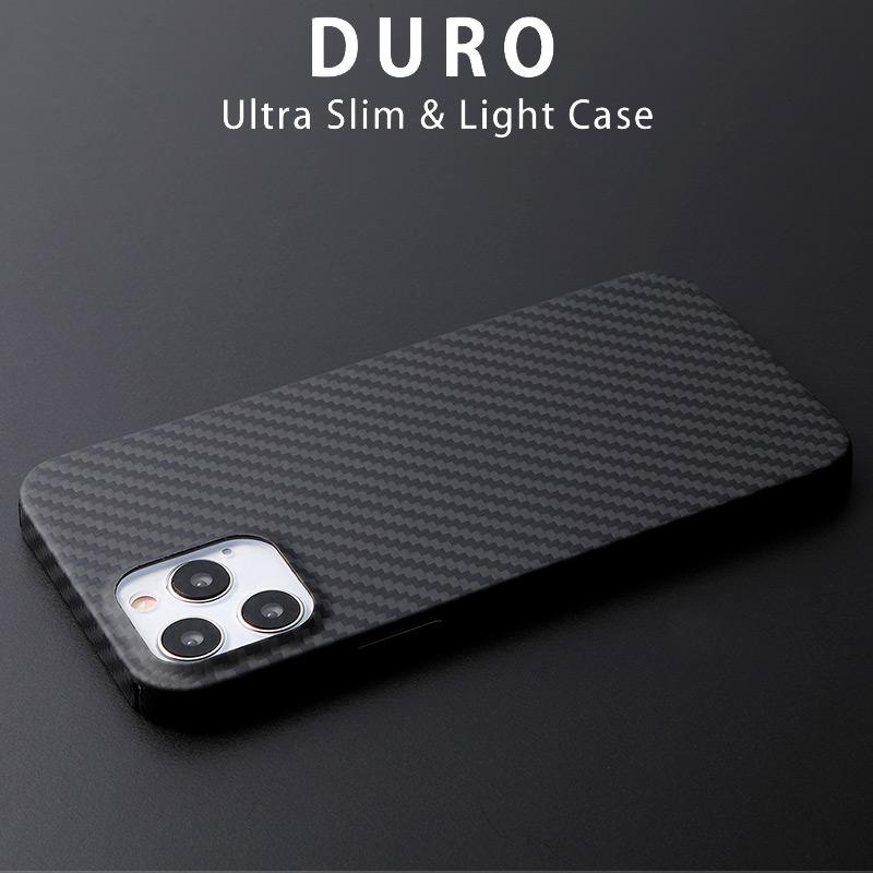 シンプルで美しい艶消マット仕上げ Ultra Slim & Light Case DURO iPhone13 ProMax ケース 背面 カバー