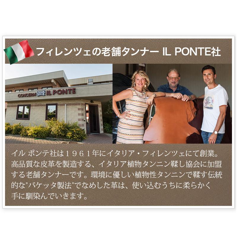 イタリア・サンタクローチェ地方のタンナー、イルポンテ社のバケッタレザー FIANCHI VACHETTA(スムースレザー)を使った、L字ファスナーのフラグメントケースです。