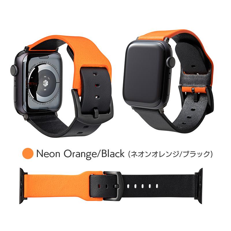 ネオンオレンジ/ブラック