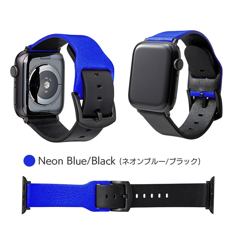 ネオンブルー/ブラック