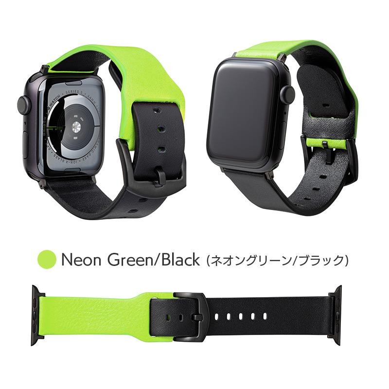 ネオングリーン/ブラック