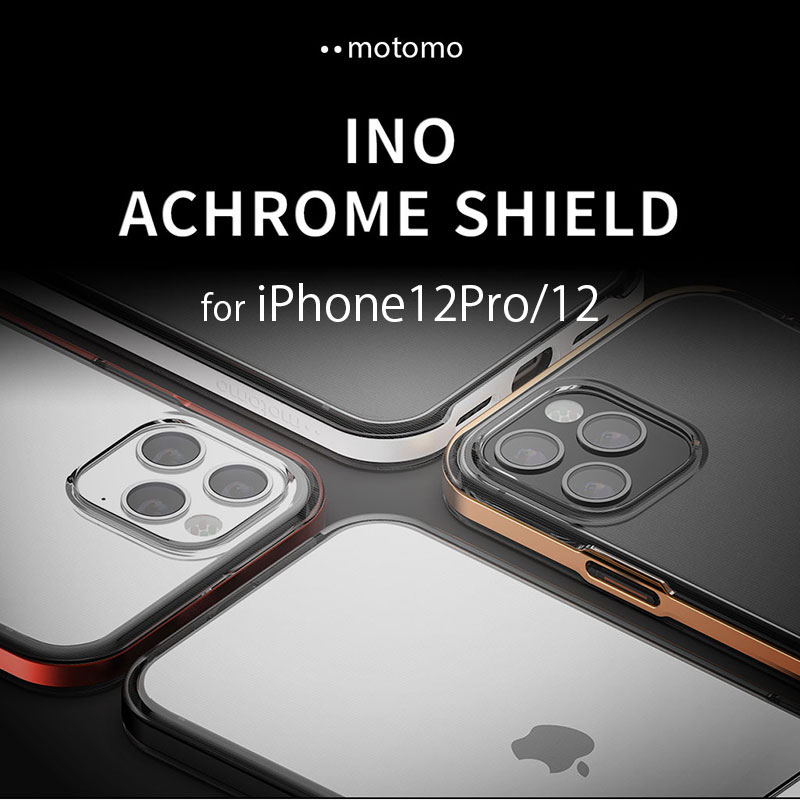 iPhone 12 Pro motomo INO Achrome Shield Case