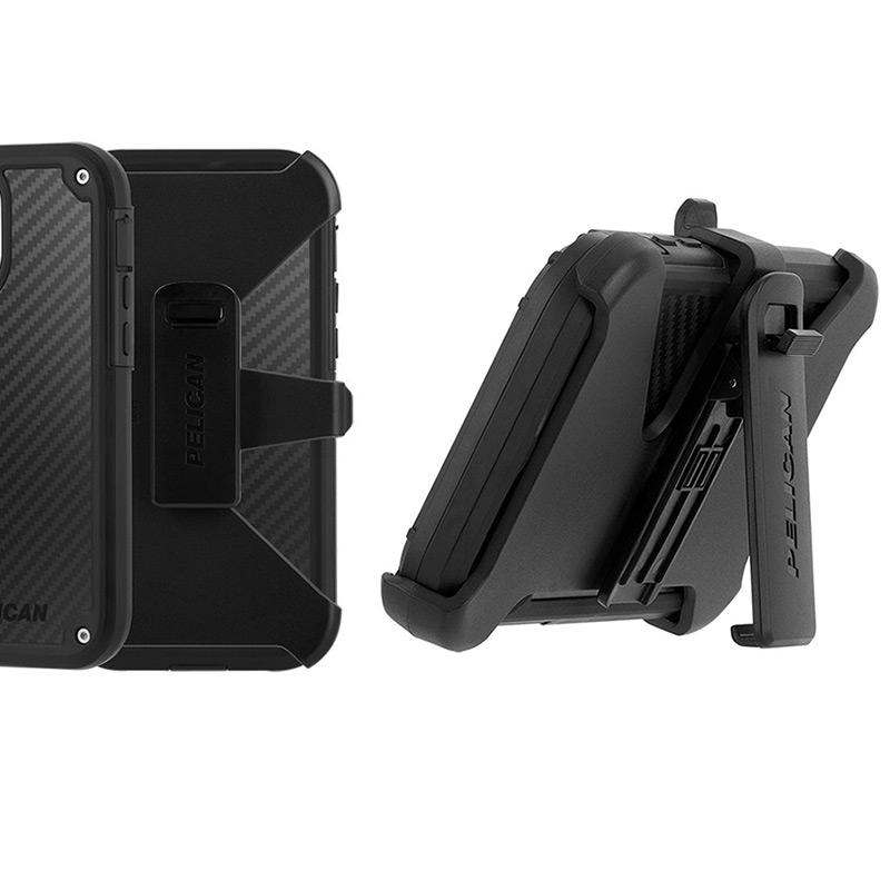 ベルトクリップ付きホルスター Pelican Shield iPhone13 Pro ケース 衝撃吸収 背面 カバー スマホケース 耐衝撃