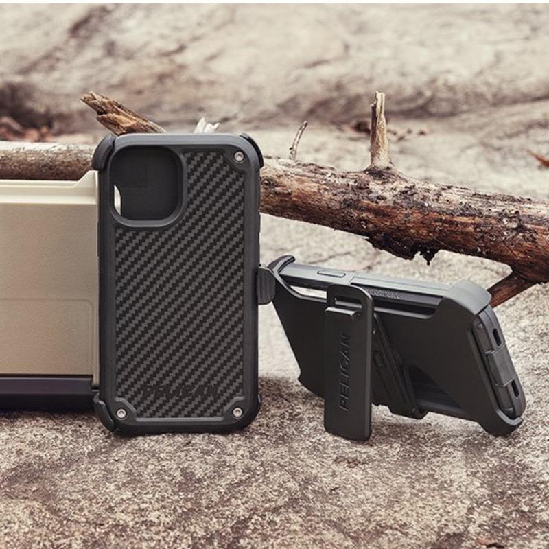 ワイヤレス充電、MagSafe対応 Pelican Shield iPhone13 Pro ケース 衝撃吸収 背面 カバー スマホケース 耐衝撃