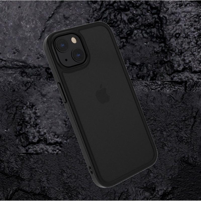 Clear Black (クリアー ブラック) iPhone13 Pro ケース 背面 カバー スマホケース 耐衝撃