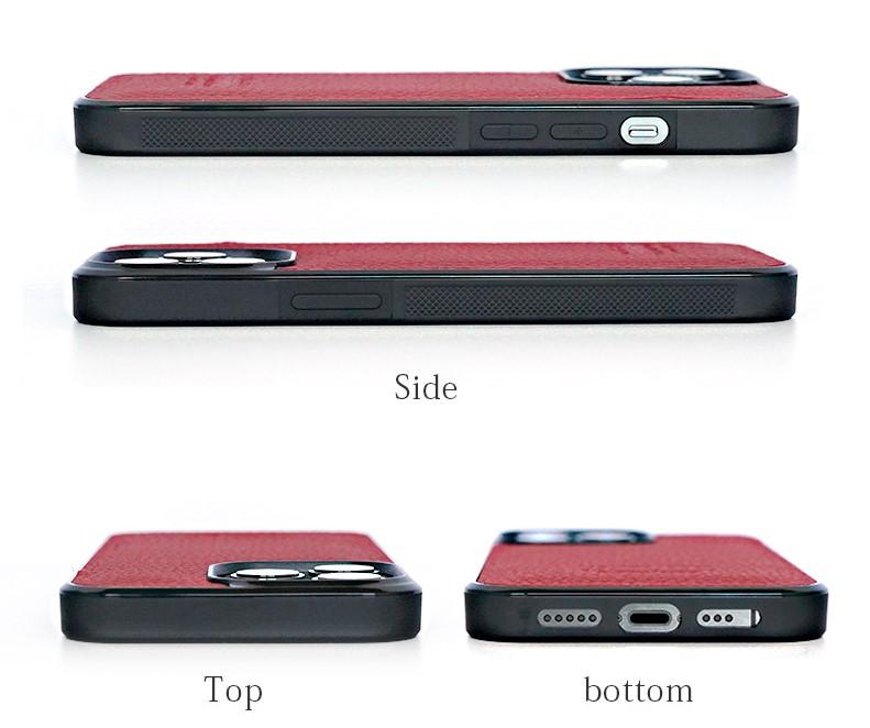 WINGLIDE『iPhone13シリーズ対応 シュランケンカーフ 背面カバー ケース』はケース着用のまま各種ボタン等にアクセス可能