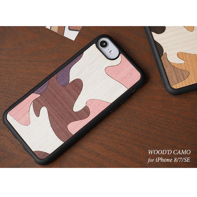 WOOD'D-CAMO iPhoneSE/8/7