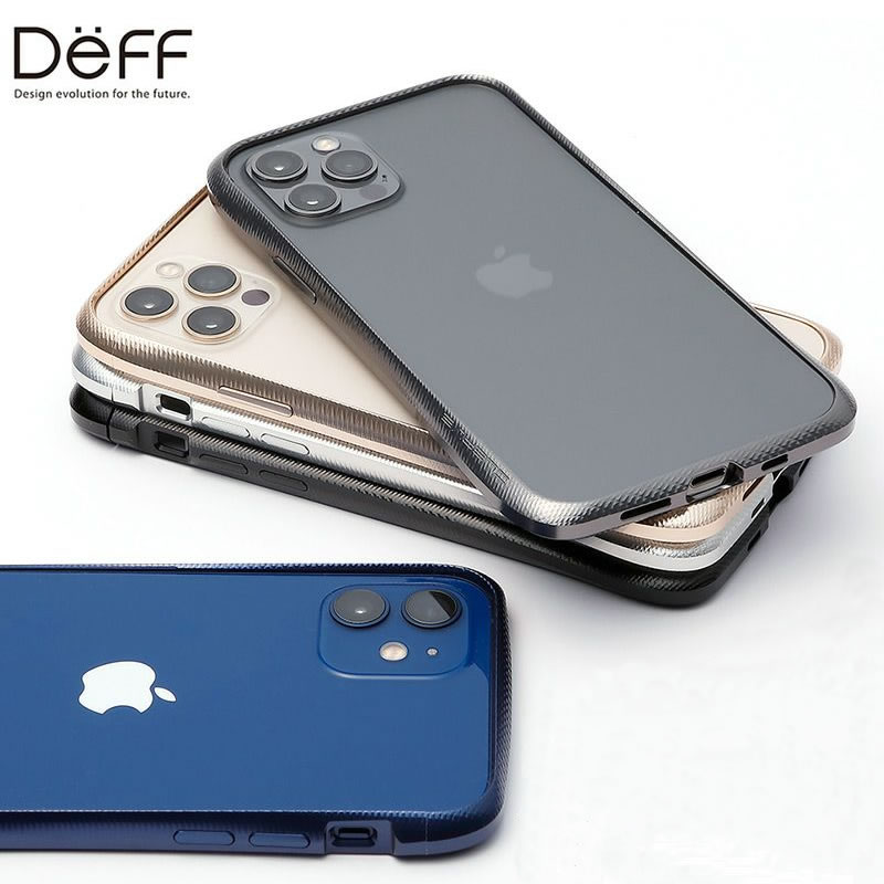 『Deff CLEAVE Aluminum Bumper』 アルミバンパー iPhoneケース バンパー