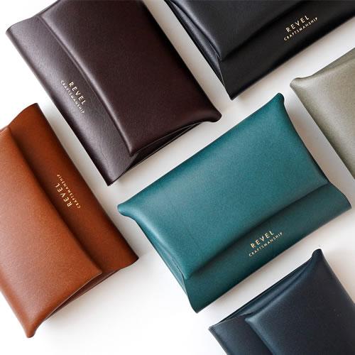 本革 レザー 革製品『REVEL レヴェル S.WALLET』 小さい財布 コンパクトウォレット