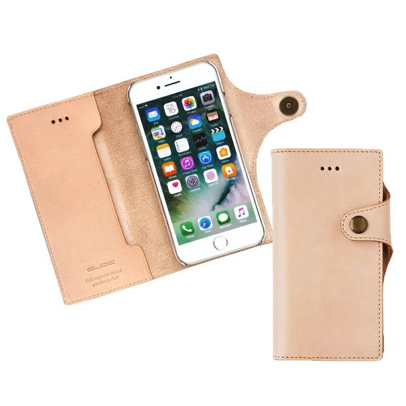iPhone SE 2 / iPhone8 / iPhone7 ケース 本革ケースの人気ランキング 1位  『GLIDE ヌメ革 手帳型 ケース』 iPhone SE (第2世代)/ iPhone 8 / iPhone 7 ケース 本革 レザー