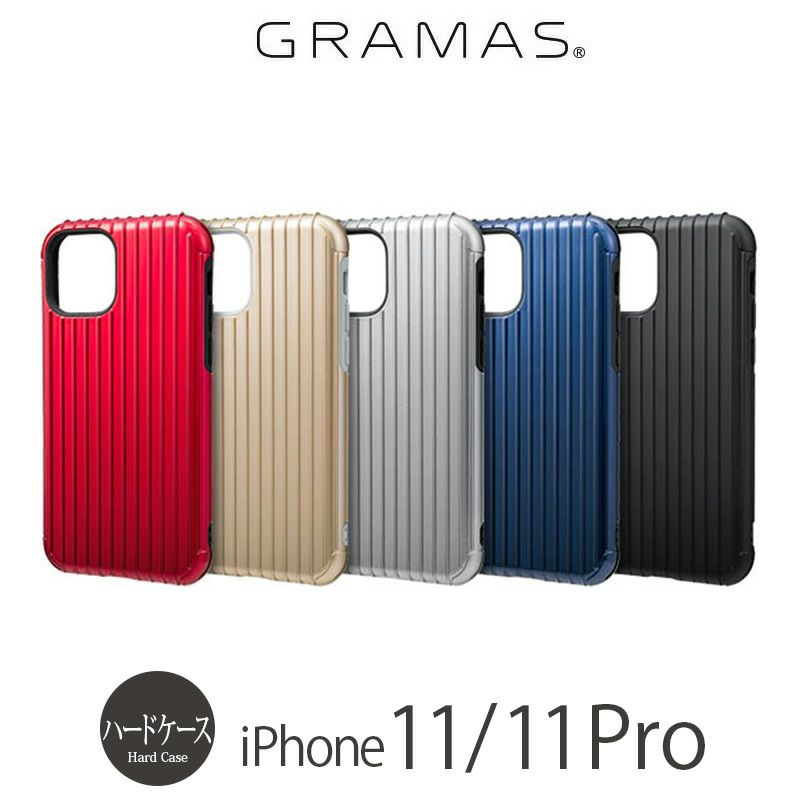 iPhone11 Pro ハードケース 売上 ランキング 4位          『GRAMAS COLORS Rib Hybrid Shell Case』 iPhone 11 / 11Pro ケース 衝撃吸収