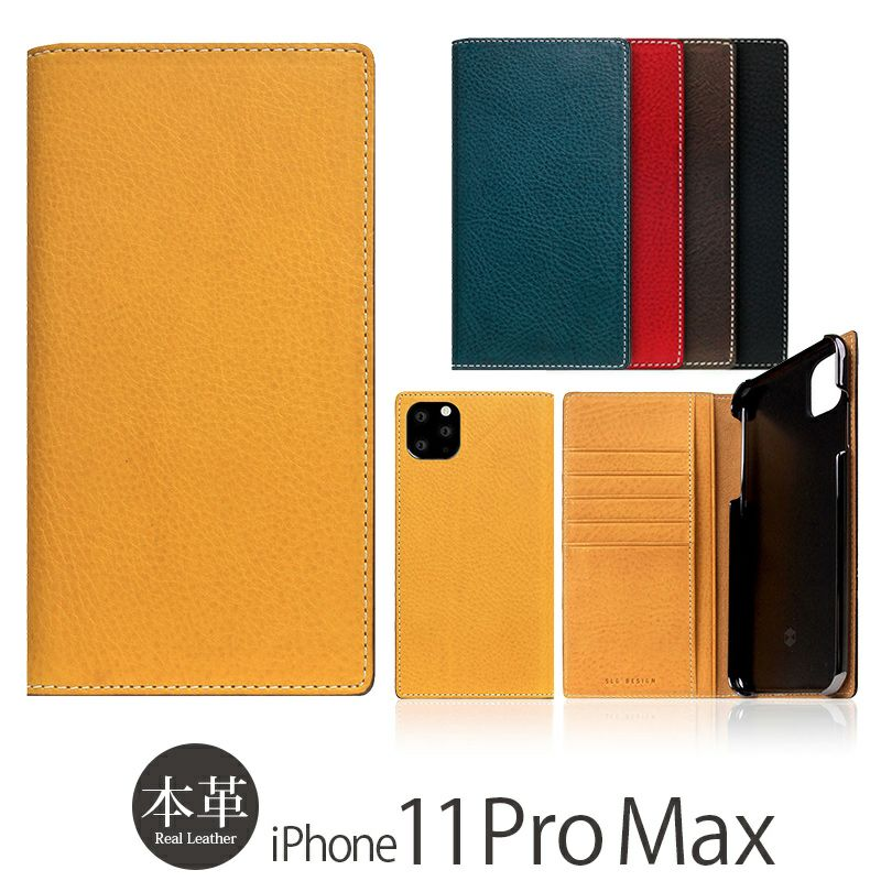 iPhone 11 Pro Max ケース 本革ケースの人気ランキング 3位  『SLG Design Minerva Box Leather Case』 iPhone 11 Pro Max ケース 手帳型 本革 レザー