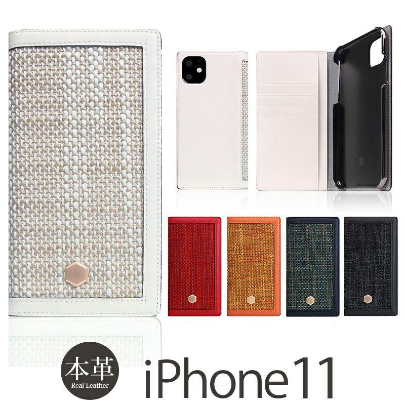 iPhone 11 手帳型 ケース 売上 ランキング 3位          『SLG Design Edition Calf Skin Leather Diary』 iPhone 11 ケース 手帳型 本革 レザー