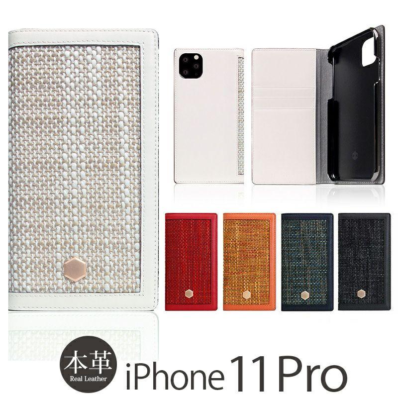 iPhone 11 Pro 本革 レザー ケース 売上 ランキング 4位          『SLG Design Edition Calf Skin Leather Diary』 iPhone 11 Pro ケース 手帳型 本革 レザー