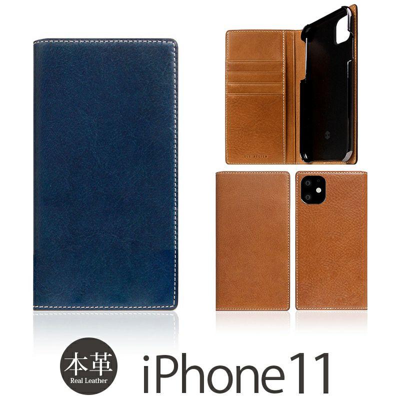 iPhone 11 ケース 本革 レザー 手帳型 選び方               SLG Design Tampomata Leather Case 本革 手帳型 タンポナタ レザー