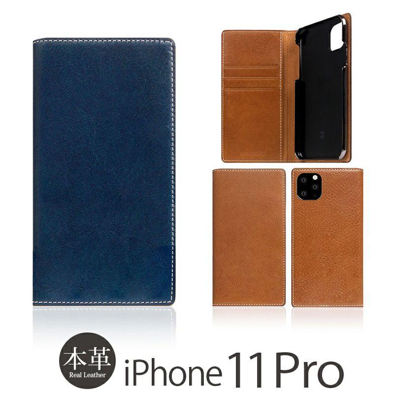 iPhone 11 Pro ケース 本革 レザー 選び方               SLG Design Tampomata Leather Case 手帳型 本革 タンポナタ レザー