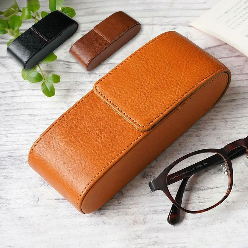 メガネケース おしゃれ 革 本革 レザー めがね 眼鏡 ケース