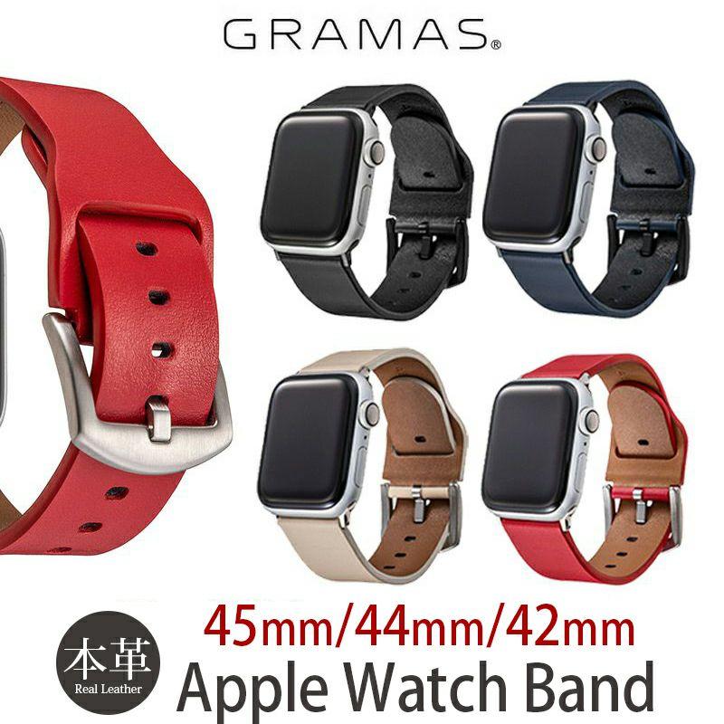 Apple Watch バンド 本革 アップル ウォッチ 44 / 42mm ベルト