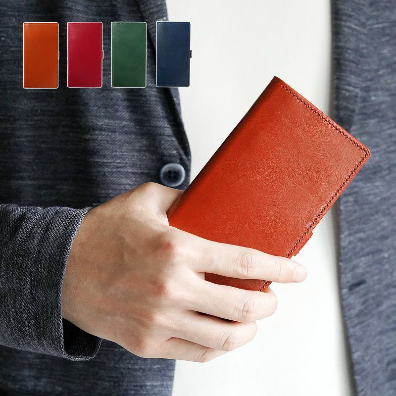 iPhone 12mini 12ProMax ケース 手帳型 本革 スマホケース