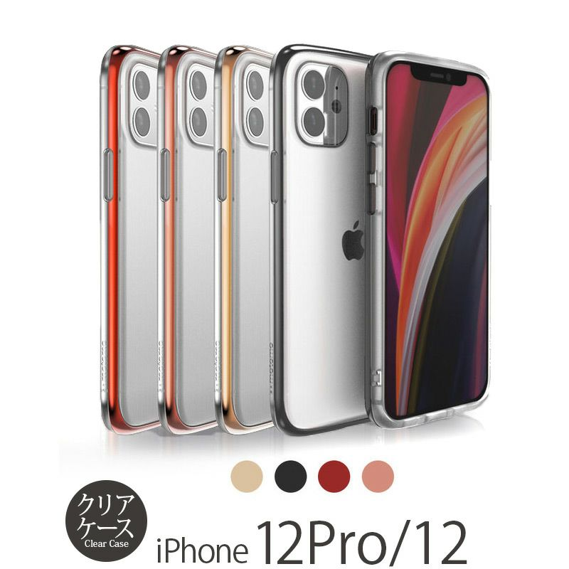 『motomo モトモ INO LINE INFINITY CLEAR CASE』 iPhone12ケース / iPhone12Proケース クリア 透明 背面 シェル
